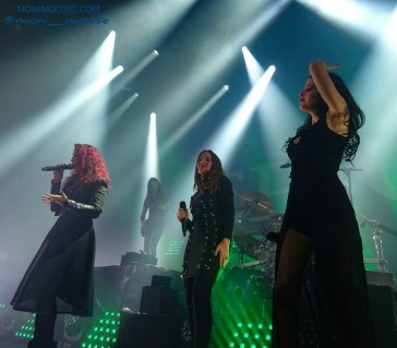 Marcela Bovio, Simone Simons, Laura Macrí, Epica, Mayan, The Dutch Principle, Zwolle, Haarlem, Nijmegen 2017