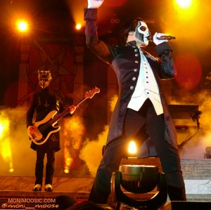Papa Emeritus III, Water Ghoul, Ghost, Stockholm, Gothenburg