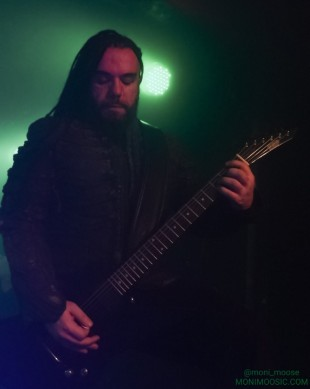 Septicflesh, Christos Antoniou, Markthalle, Marx, Hamburg 2018