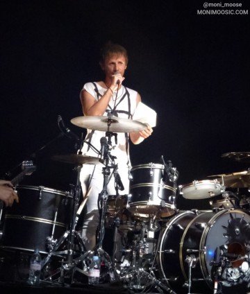 Dominic Howard, Muse, La Cigale, Paris 2018
