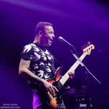 Chris Wolstenholme, Muse, La Cigale, Paris 2018