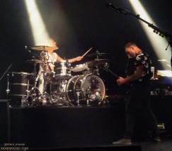 Dominic Howard, Chris Wolstenholme, Muse, La Cigale, Paris 2018