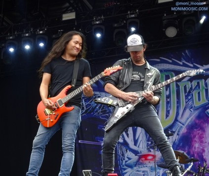 Herman Li, Sam Totman, Dragonforce, FortaRock 2018